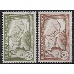 Salvador Známka 6870