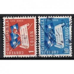 Salvador Známka 6871