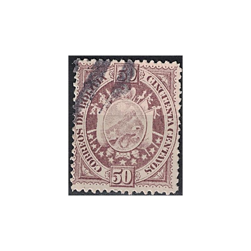 Bolivia Známka 7050