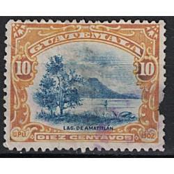 Guatemala Známka 7058