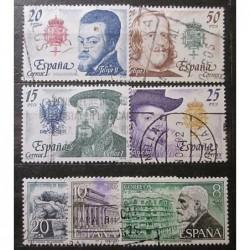 Španělsko partie známek 19_07