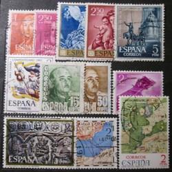 Španělsko partie známek 19_08