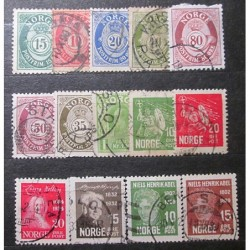 Norge Lot Stamps 19_21