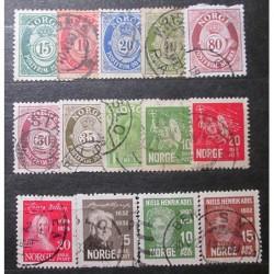 Norsko partie známek 19_21