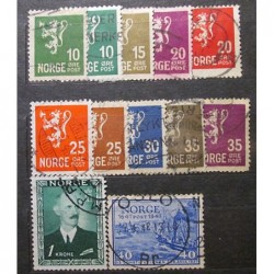 Norge Lot Stamps 19_22