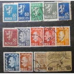 Norge Lot Stamps 19_23