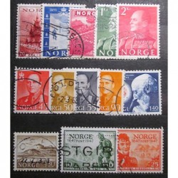 Norge Lot Stamps 19_24