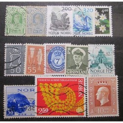 Norge Lot Stamps 19_25