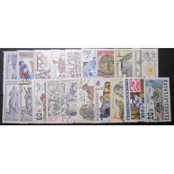 Československo 19 kusů poštovních známek 20_01