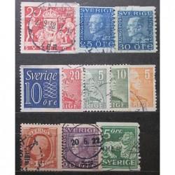 Švédsko partie poštovních známek 20_20