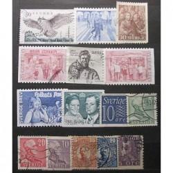 Švédsko partie poštovních známek 20_21