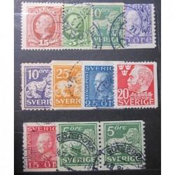 Švédsko partie poštovních známek 20_22
