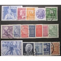 Švédsko partie poštovních známek 20_23