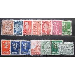 Norsko partie poštovních známek 20_24