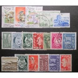 Norsko partie poštovních známek 20_25