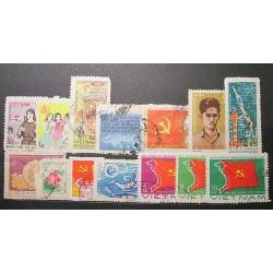 Viet nam partie poštovních známek 20_30