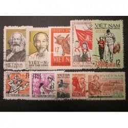 Viet nam partie poštovních známek 20_37