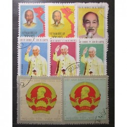 Viet nam partie poštovních známek 20_50