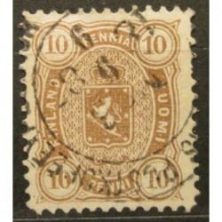 Finsko známka 15A zkoušená