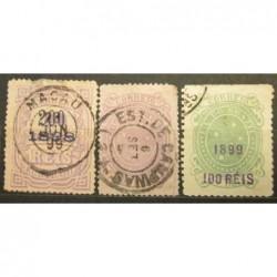 Brazilie partie známek 13_56