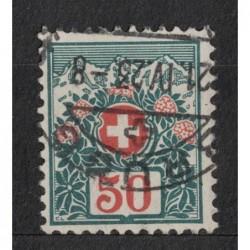 Helvetia 8033 poštovní známka.