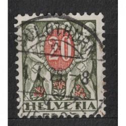 Helvetia 8034 poštovní známka.
