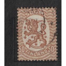 Finsko 8070 poštovní známka.