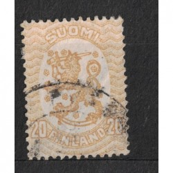 Finsko 8074 poštovní známka.