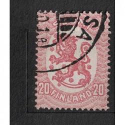 Finsko 8075 poštovní známka.