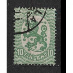 Finsko 8077 poštovní známka.