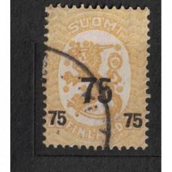 Finsko 8080 poštovní známka.