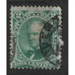 Argentína 8129 poštovní známka.