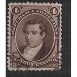 Argentína 8130 poštovní známka.