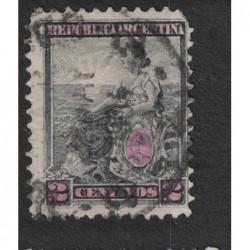 Argentína 8131 poštovní známka.
