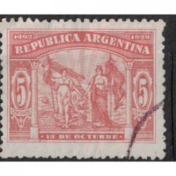 Argentína 8132 poštovní známka.