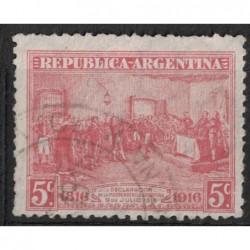 Argentína 8133 poštovní známka.