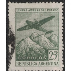 Argentína 8135 poštovní známka.