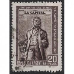 Argentína 8186 poštovní známka.