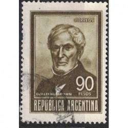 Argentína 8195 poštovní známka.