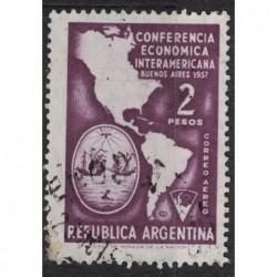 Argentína 8200 poštovní známka.