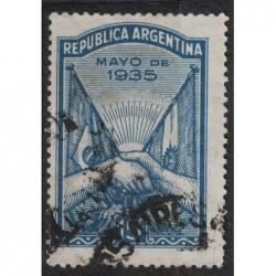 Argentína 8202 poštovní známka.