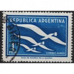 Argentína 8203 poštovní známka.