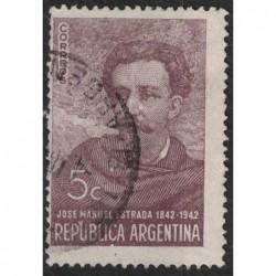 Argentína 8206 poštovní známka.