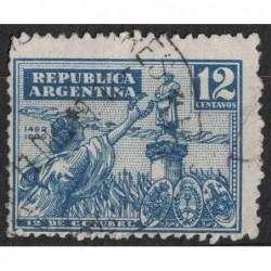 Argentína 8212 poštovní známka.