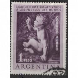 Argentína 8220 poštovní známka.