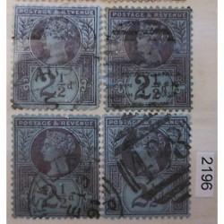 Anglie partie známek 2196