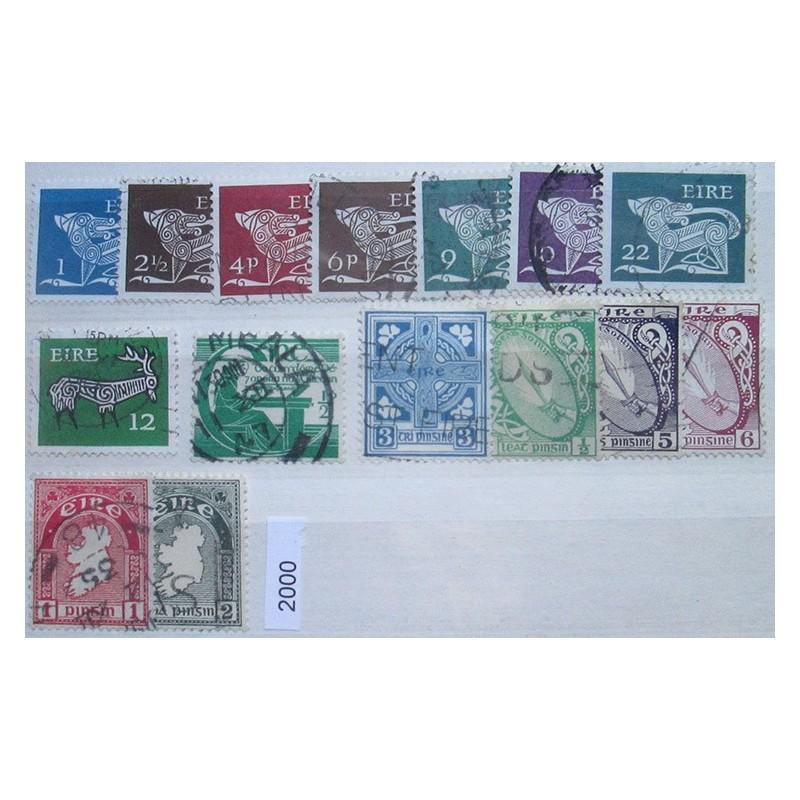 Irsko partie známek