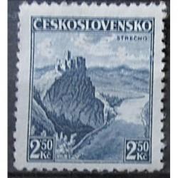 Československo 2.50 Kč modrá