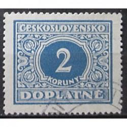 Československo Doplatné 2 koruny