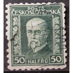 Československo 50 haléřů Masaryk